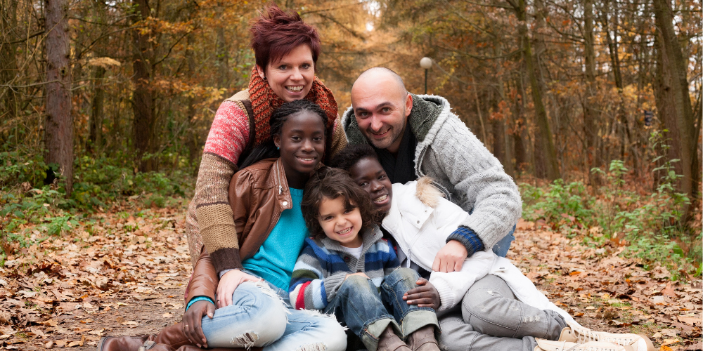 Multicultural Adoptive Family